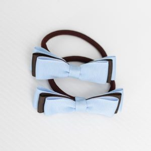 Double Bows Hair Tie (pack Of 2)