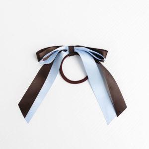 Hair Elastic Bow Ribbon